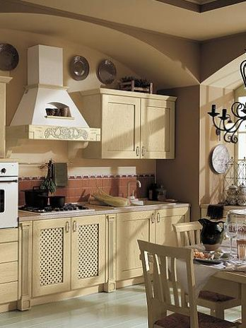 Rustic Country French kitchen cabinets, Italian design quality.