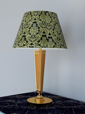 Luxury Golden Classic style table lamp.
