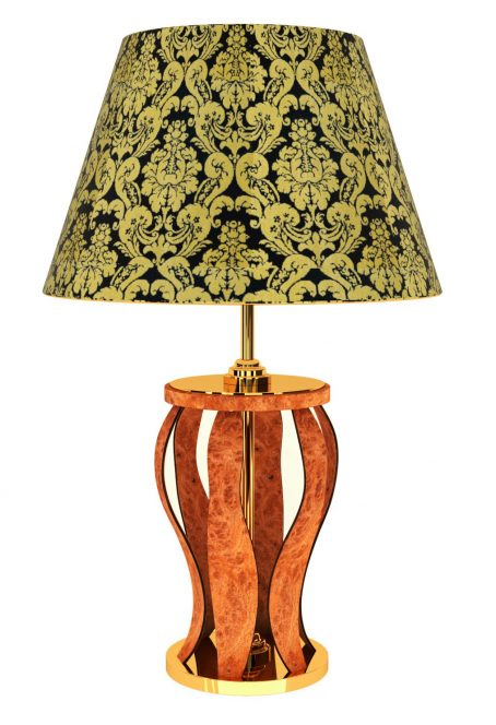CONTEMPORARY BRIAR ROOT TABLE LAMP