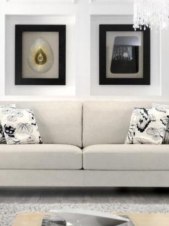 Italian sofa primo fiore leather