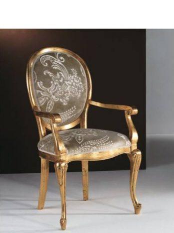 Contemporay style Chairs creta gold