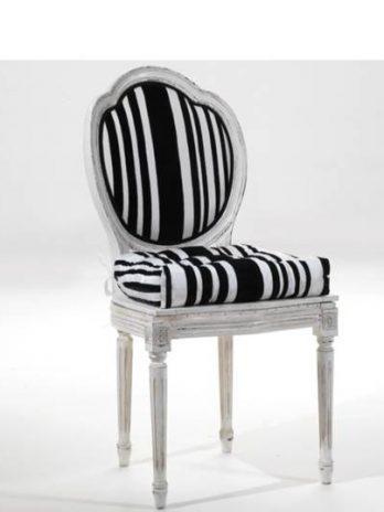 Contemporay style Chair worn white