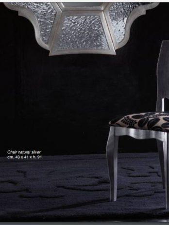 Modern Chair natural silver