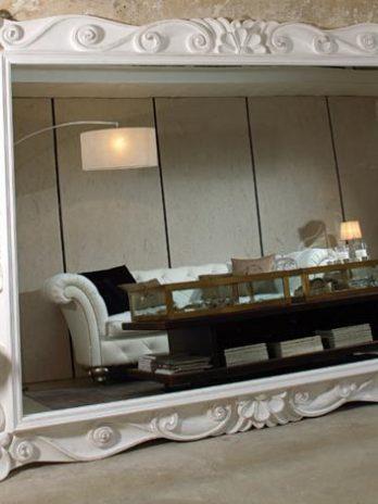 Classic Mirror frame antique white