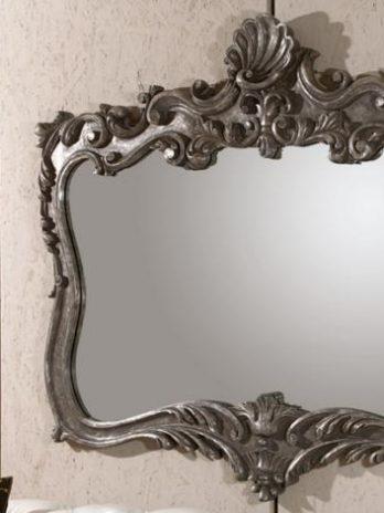 Classic Mirror frame antique platinum color