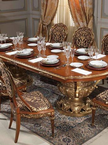 Classic luxury furniture collection for the dining room