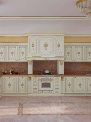 Classic crafted kitchen made by hand by expert Italian craftsmen