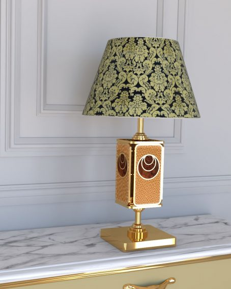 Contemporary Luxury Golden Table Lamp